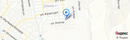 Женис продуктовый магазин на карте Алматы