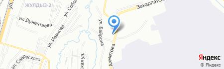 Авиационный колледж на карте Алматы