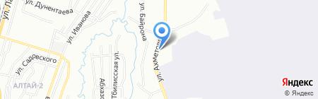 Фердаус на карте Алматы