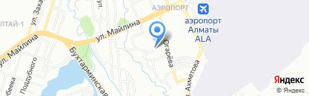 Детская музыкальная школа №9 им. И.Е. Брусиловского на карте Алматы