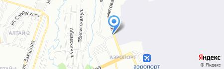 Ansat на карте Алматы