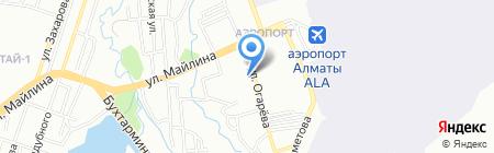 Школа-гимназия №44 на карте Алматы