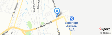 Фаворит на карте Алматы