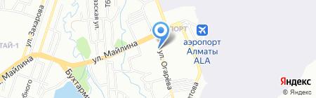 Гурман на карте Алматы