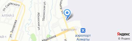 Авиаремонтный завод №405 АО на карте Алматы