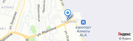 Шарм на карте Алматы