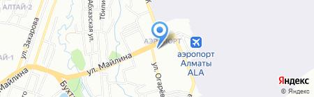 Родничок на карте Алматы