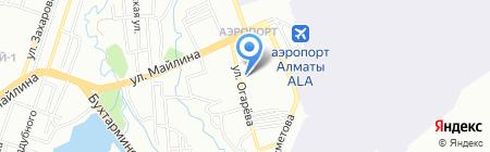 Участковый пункт полиции №96 Турксибского района на карте Алматы