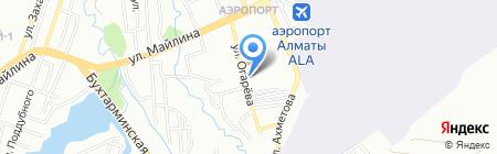 Золушка на карте Алматы