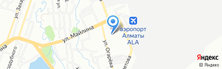 Bek Air АО на карте Алматы