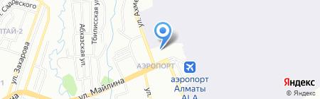 Нур ТОО на карте Алматы