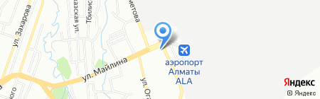 Мила на карте Алматы