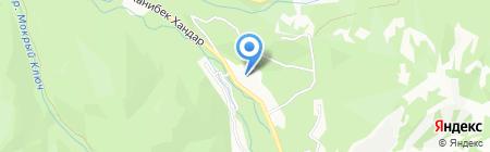 Балбулак на карте Алматы