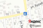 Схема проезда до компании Гаухар, продуктовый магазин Иманбаев в Алматы