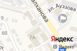 Схема проезда до компании ЕНПФ в Отегене Батыра