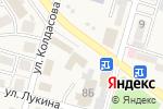 Схема проезда до компании Kaspi Bank в Отегене Батыра