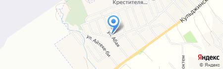 Санжар продовольственный магазин на карте Гульдалы