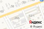 Схема проезда до компании Батыр в Бесагаш