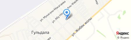 Малика магазин на карте Гульдалы