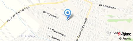 Куралай магазин на карте Гульдалы