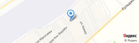 Жихан-Бетон ТОО на карте Гульдалы