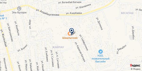 Кайсар на карте Туздыбастау