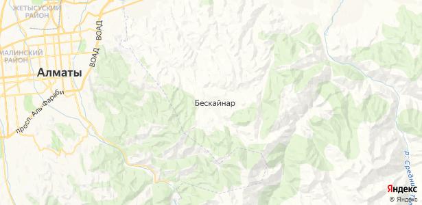 Бескайнар на карте
