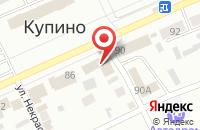 Схема проезда до компании Пятёрочка в Токсово