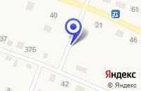 Схема проезда до компании ПРОДОВОЛЬСТВЕННЫЙ МАГАЗИН БЕРЕЗКА в Багане