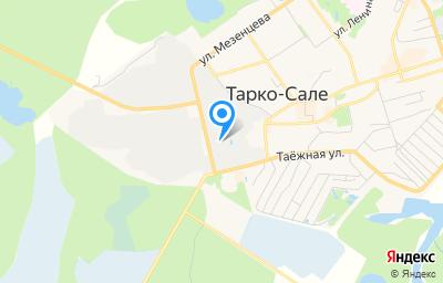 Местоположение на карте пункта техосмотра по адресу Ямало-Ненецкий АО, г Тарко-Сале, ул Промышленная