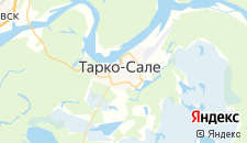 Отели города Тарко Сале на карте