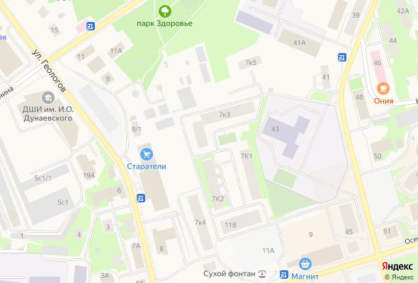 жилой комплекс По ул.Геологов 7 к3