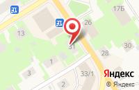 Схема проезда до компании Бизнес Альянс в Ильинке