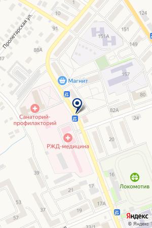 ДОМ КУЛЬТУРЫ ЖЕЛЕЗНОДОРОЖНИКОВ на карте Карасука