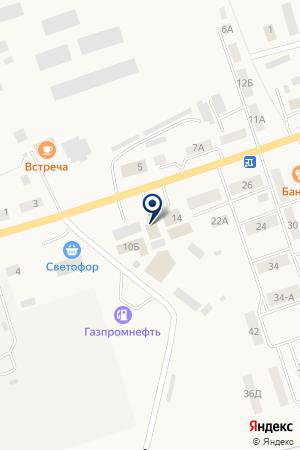 НЕФТЕБАЗА НОВОСИБИРСКНЕФТЕПРОДУКТ ВНК на карте Карасука