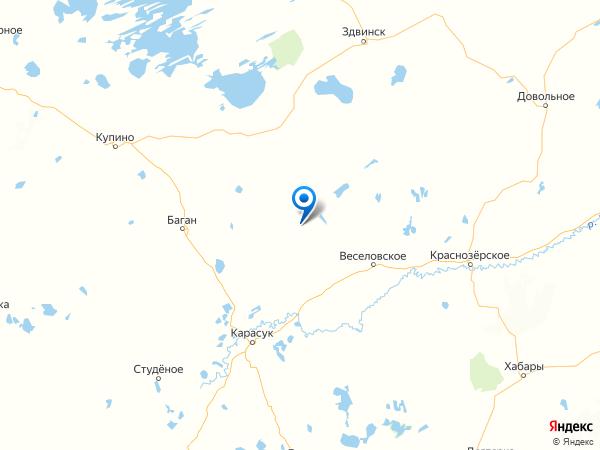 село Красный Остров на карте