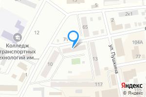 Однокомнатная квартира в Барабинске Октябрьская улица, 106