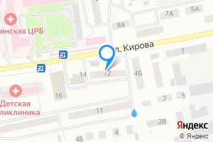 Двухкомнатная квартира в Барабинске улица Кирова, 12