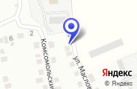Схема проезда до компании ТРАНСПОРТНАЯ ФИРМА СОЮЗ Т в Барабинске