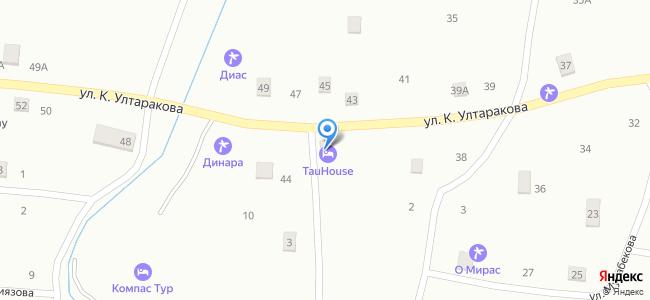 Казахстан, Алматинская область, Кегенский район, поселок Саты, улица К. Ултаракова, 1