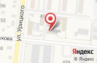 Схема проезда до компании Гранит в Славгороде