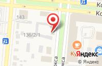 Схема проезда до компании Лагуна в Славгороде