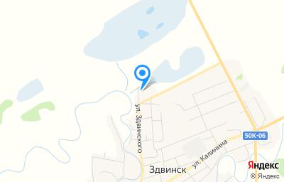 Местоположение на карте пункта техосмотра по адресу Новосибирская обл, с Здвинск, ул Советская, д 51/2