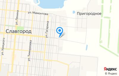 Местоположение на карте пункта техосмотра по адресу Алтайский край, г Славгород, ул Кирпичная, д 145А