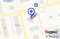 Схема проезда до компании МАГАЗИН ФЕЯ в Тазовском