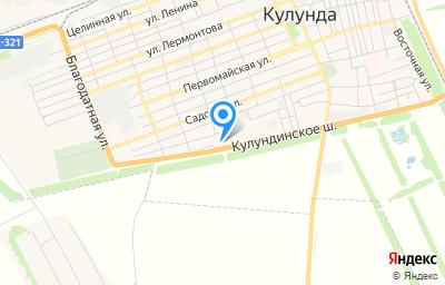 Местоположение на карте пункта техосмотра по адресу Алтайский край, Кулундинский р-н, с Кулунда, ул Кулундинская, д 2А