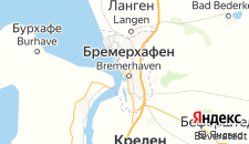 Отели города Бремерхафен на карте