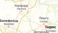 Отели города Бад-Зальцуфлен на карте