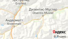 Отели города Седрён на карте