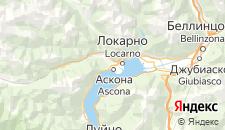 Хостелы города Аскона на карте